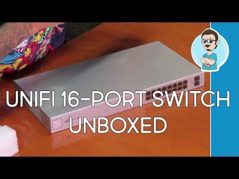 UniFi Managed PoE+ 16-Port Gigabit Switch with SFP Unboxing!