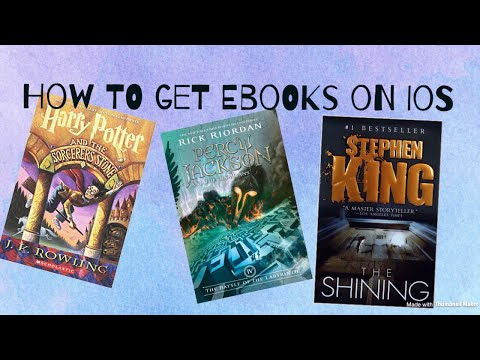 How to get free ebooks for iOS