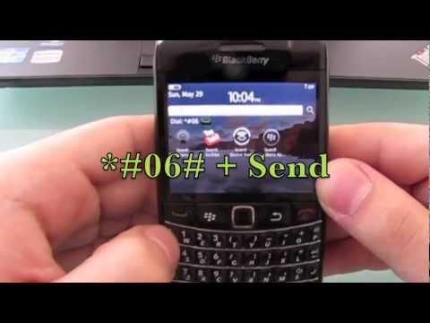 How to unlock Blackberry Bold 9780