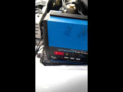 How to connect a battery charger
