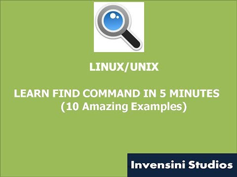 Learn Find command in 5 Minutes