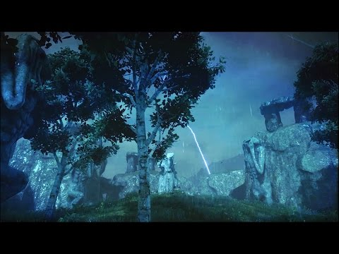 Dragon Age – Fallow Mire, Granite Point Ambience (Thunderstorm Sounds, White Noise, Relaxation)