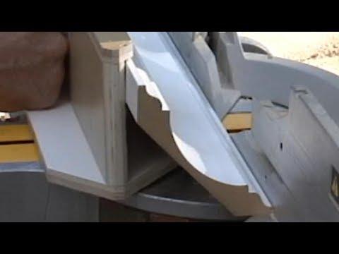 (DIY HACK) Cut Crown as easy as Base Molding!
