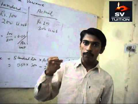 Fixed Overhead Variance Analysis - Part 1 ( Lecture in Hindi )