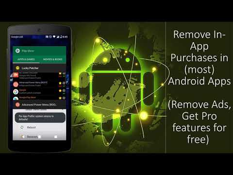 Purchase items for free on (most)Android Apps and Games