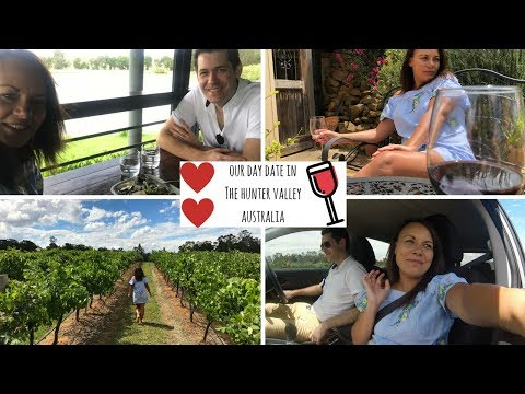Our day date in the Hunter Valley, Australia