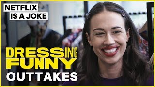 Miranda Sings Gives Tan France a New Name | Dressing Funny Outtakes | Netflix Is A Joke