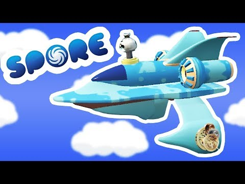 Building Airplanes and Dominating the Planet! - Spore Gameplay