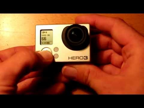 Howto Hard Reset Gopro Hero 3 And 3 Cameras