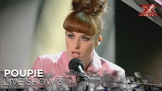 Poupie transforma 'Me niego' de Reik en un baladón a piano | Directos 3 | Factor X 2018