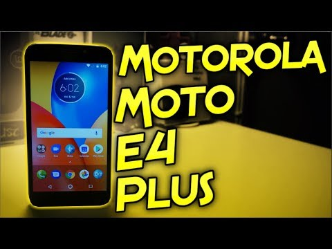 Motorola Moto E4 Plus Unboxing & First Impressions