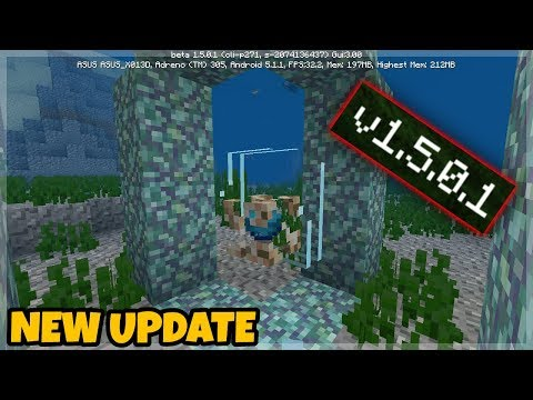 NEW Minecraft Pocket Edition 1.5.0.1 / with XBOX Live