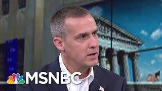 Former Trump Campaign Manager Corey Lewandowski: Do I Have Any Regrets? No | Morning Joe | MSNBC