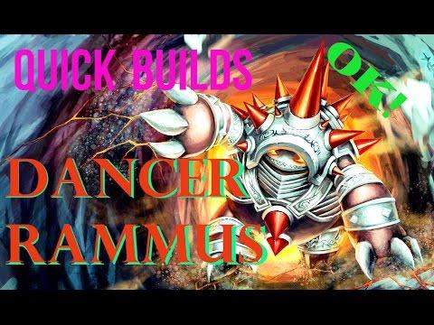 Quick Builds: Phantom Dancer Rammus Jungle Build Guide (1350 Riot Points Giveaway)