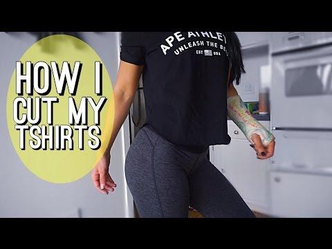 How I Cut My Tshirts | Upper Body Day | Ep. 40