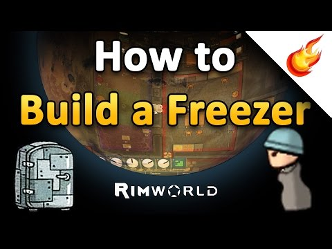 HOW TO BUILD A FREEZER - RimWorld Alpha 15