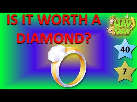 HAY DAY - IS IT WORTH A DIAMOND? THE DIAMOND RING QUESTION! THE DIAMOND RING PROFIT REVEALED!
