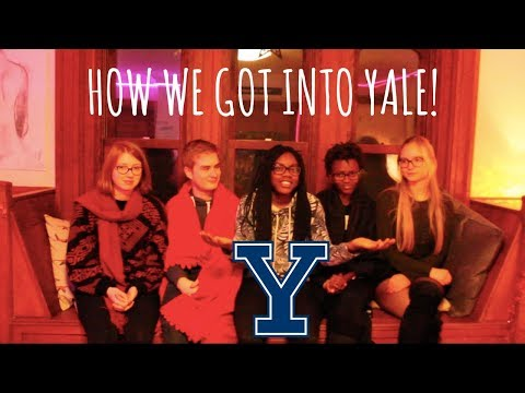 How We Got Into Yale Part 1
