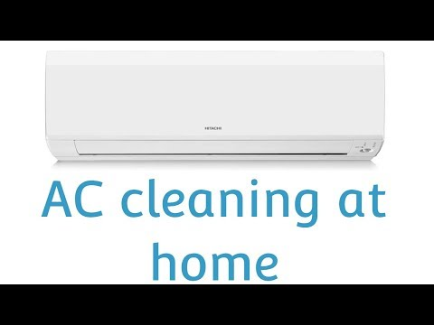 HOW-TO-CLEAN AC AT HOME | AIR CONDITIONER SERVICING | SPLIT AC CLEANING AT HOME