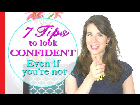 How to Look Confident – 7 Tricks to Look Confident Even if You Are Not