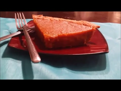 Holiday Harvest Pumpkin Pie Dessert: Meso Southern Style
