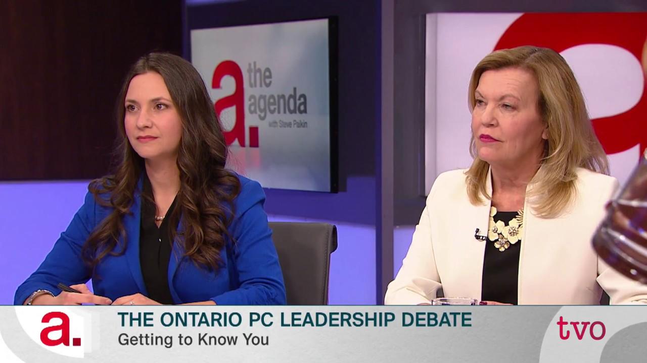 The Ontario PC Leadership Debate