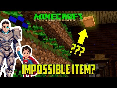 Minecraft: ARGH! THIS BLOCK IS IMPOSSIBLE (Find the Items Minigame Mod PART 1)