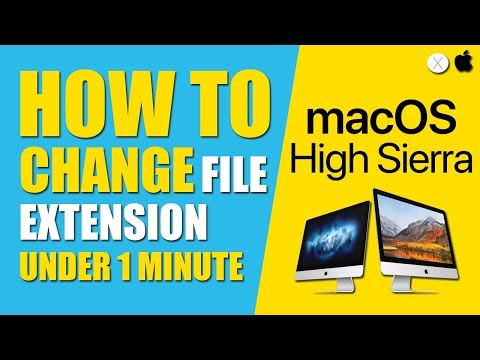 How to Change File Extension on Mac/OS X (Mar 2018)