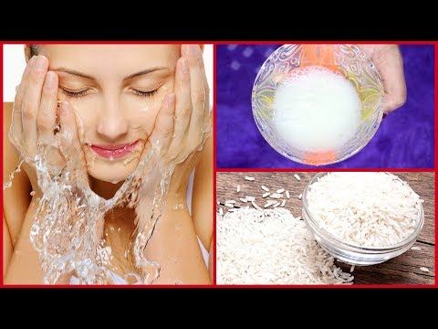 BOILED RICE WATER FACE WASH/#DIY ACNE AND PIMPLE REMOVER
