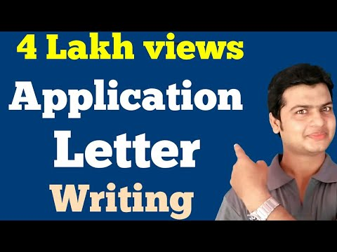 Application | Letters | Learn How to Write An Application & Letters. By Alam