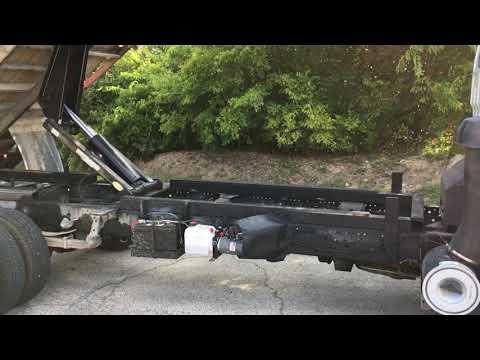 How  to install a hydraulic dump hoist kit
