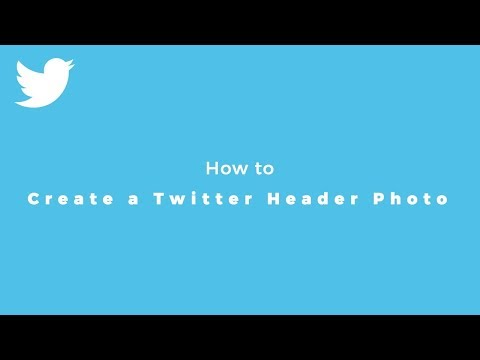 How to Create a Twitter Header Photo With the Right Size