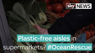 Ocean Rescue: Supermarkets urged to create plastic-free aisles