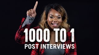1000 to 1 (Post-Interviews)   1000 to 1   Cut