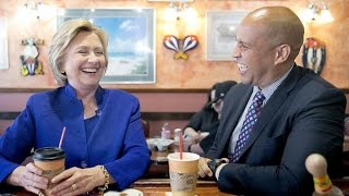 Cory Booker Is Hillary Clinton REINCARNATED