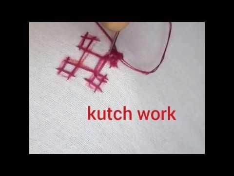 Kutch work for beginners