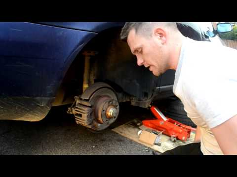 How to replace rear brake pads - Audi, volkswagen, Skoda, Seat  and many more