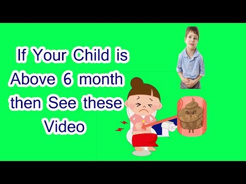 Amazing Remedies for Constipation in  Kids || How to get rid of constipation naturally