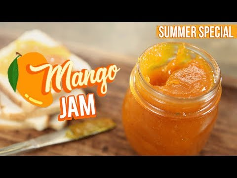 Mango Jam Recipe - How To Make Jam At Home - Fruit Jam Recipe - Varun Inamdar