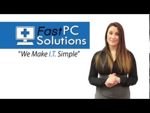Fast PC Solutions- What we Do
