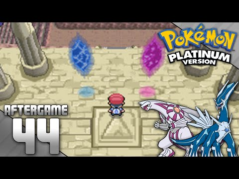 Pokemon Platinum Part 44 - Catching Dialga and Palkia