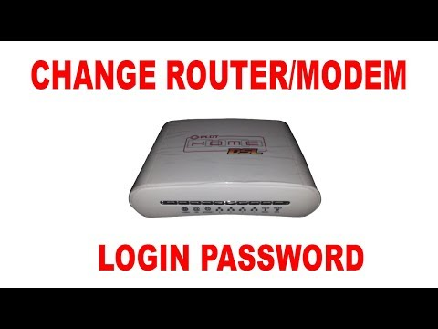 How to Change PLDT DSL modem/router password