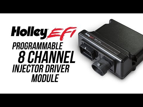 Holley EFI Programmable 8 Channel Injector Driver Module
