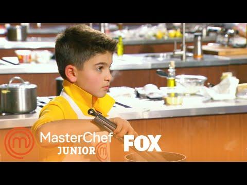 Mikey Makes A Surf & Turf Dish | Season 6 Ep. 13 | MASTERCHEF JUNIOR