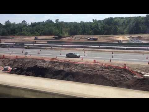 Disney Monorail ride to Epcot