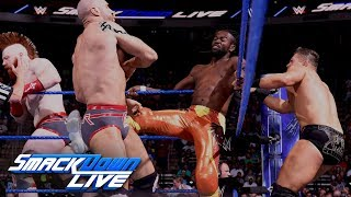 The New Day vs. The Miz & The Bar: SmackDown LIVE, May 29, 2018