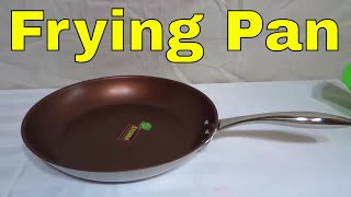 Ozeri 12 Inch Stainless Steel Earth Pan Review-With Non Stick Coating (ZP4-30BR)