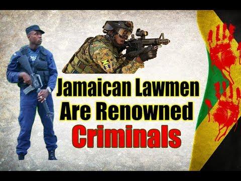 Criminals In Jamaica Security Forces |  Robert Montague | Peter Bunting | Shackeila Jackson