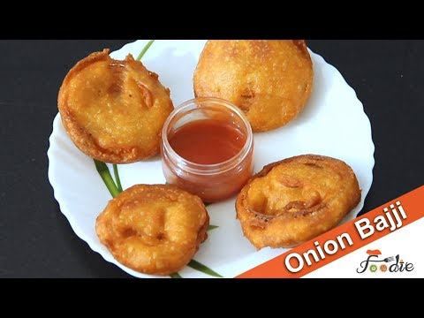 Onion bajji recipe| easy snacks to make at home for kids| snacks recipes | onion recipes | Foodie