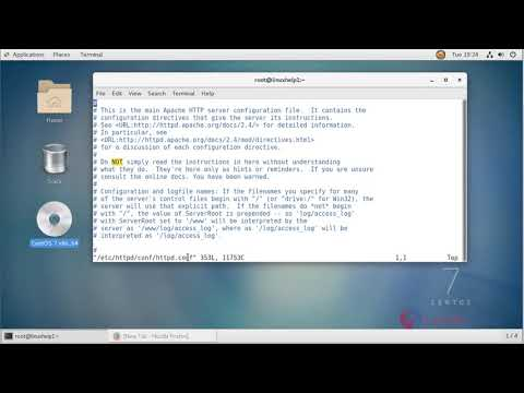 How to enable the Apache server-status on CentOS 7